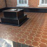 stencil design patios