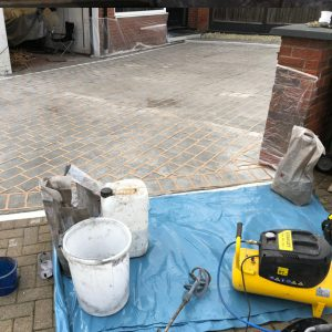 spray on concrete driveways