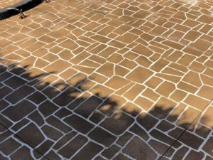 stencil concrete wrexham