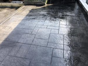 imprinted concrete patio ellesmere port