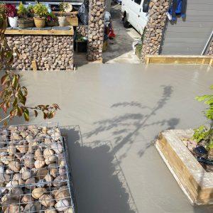 imprinted concrete patio buckley